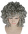 Medium Curly Olympian Lady Wigs | Red Cosplay Halloween Wigs | Premium Breathable Capless Cap