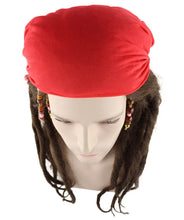 Authentic Pirate Captain Wig HM-174 - HalloweenPartyOnline