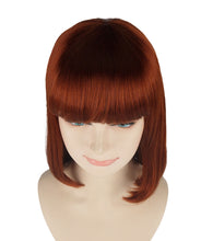 Medium Bob Wigs | Brown Sexy Cosplay Party Halloween Wigs | Premium Breathable Capless Cap