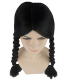 Black Braided Gothic Wig HW-304