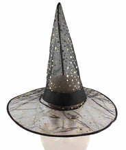 Black Sparkle Witch Hat