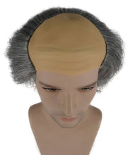 Old Bald Man Wig | Gray Cosplay Halloween Wig With Cap