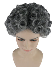 Old Grandma Wig | Character Play Cosplay Halloween Wig | Premium Breathable Capless Cap