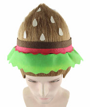 Burger Troll Wig | Food Theme Cosplay Halloween Wig | Premium Breathable Capless Cap