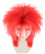 80's Adult Women Red Rocker Style Wig HW-936 - HalloweenPartyOnline