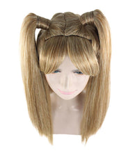 Lolita Cosplay Wig | Long Blond Ponitail Character Wig | Premium Breathable Capless Cap