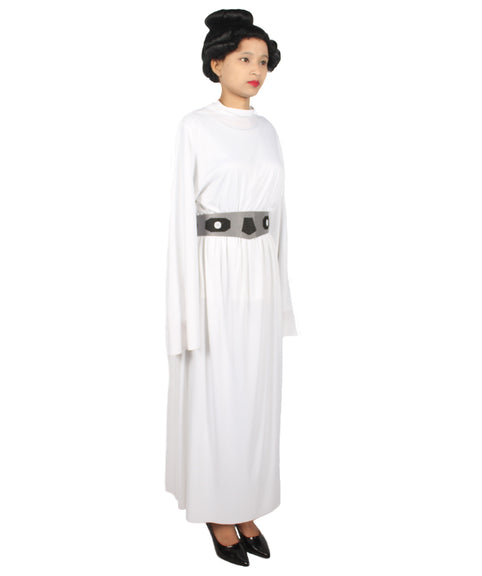 Adult Women S Star Wars Princess Leia White Cosplay Costume