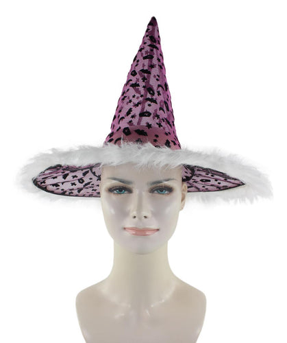 Purple & Black Witch Hat