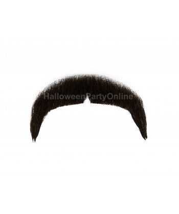 Moustaches HB-006 Black #4 - HalloweenPartyOnline
