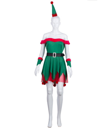 Women's Sexy Elf Costume | Holiday Costumes