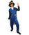 Adult Men's Wizard Costume | Black & Blue Cosplay Costume