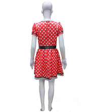 Adult Women's Sassy Minnie Mouse Costume HC-218 - HalloweenPartyOnline