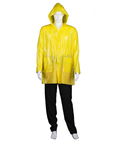 Adult Men's Costume for Cosplay IT Georgie Raincoat HC-367 - HalloweenPartyOnline
