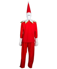 Adult Men's Elf on the Shelf Costume HC-415 - HalloweenPartyOnline