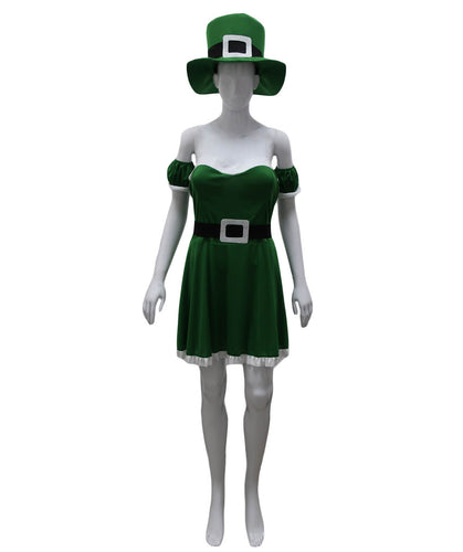 Adult Women's Spank Me I'm Irish Leprechaun Costume HC-698 - HalloweenPartyOnline