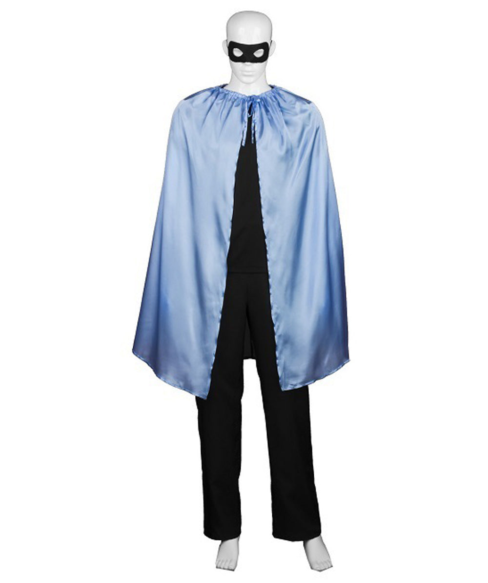 Adult Men's Superhero Cape with Mask Set - HalloweenPartyOnline