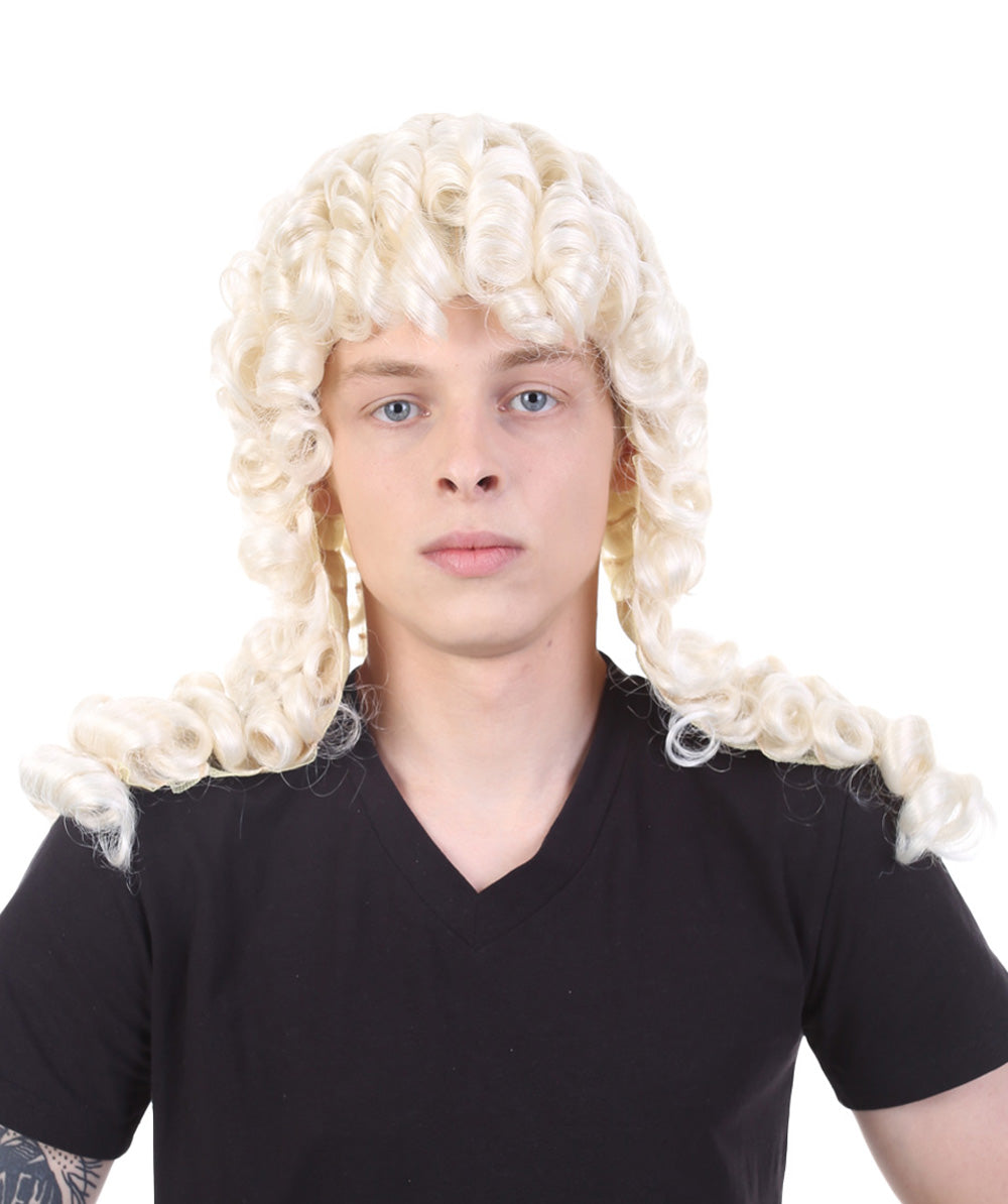 Sir Riggs Wig | Blonde Colonial Cosplay Halloween Wig
