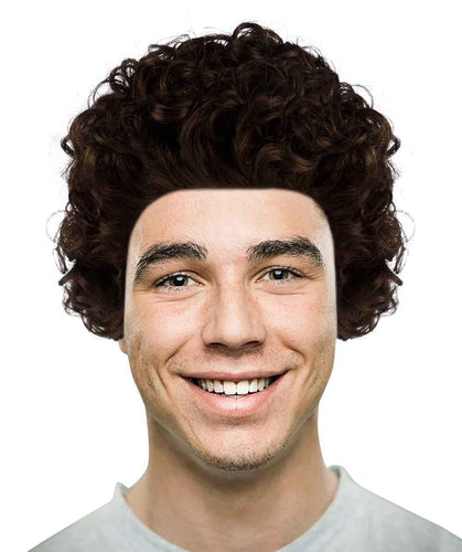 Mini Afro Brown Wig | Cosplay Halloween Wig