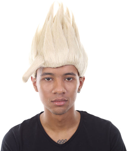 Dragon Ball Z Son Gohan Spike Wig | Blonde TV/Movie Wigs