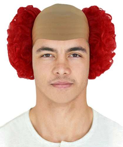 Baldy The Clown Wig | Red Scary Wigs