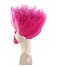 King Troll Wig | Red and White Trolls Wigs | Premium Breathable Capless Cap