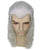 Men's Long Length Straight Cosplay Witcher Wig | Grey Cosplay Halloween Wig | Premium Breathable Capless Cap