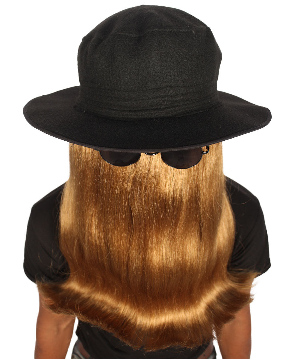 Brown Long or Short Styles HPO Mens or Womens Dapper Creature Playboy Wig Collection