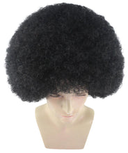 Men Disco Afro Wig | Jumbo Cosplay Halloween Wig | Premium Breathable Capless Cap