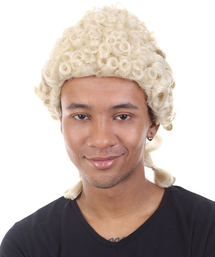 Colonial Judge Wigs | Blonde Historical Wigs