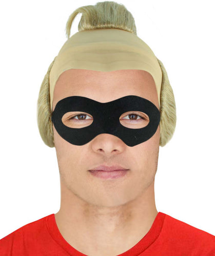 Incredibles 2 Mr. Incredible Wig | Bob Parr Wig with Mask Set | TV/Movie Wigs