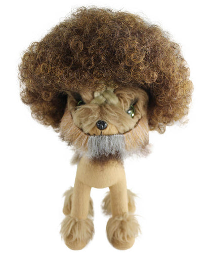 Bob Ross Pet Wigs With Beard Only