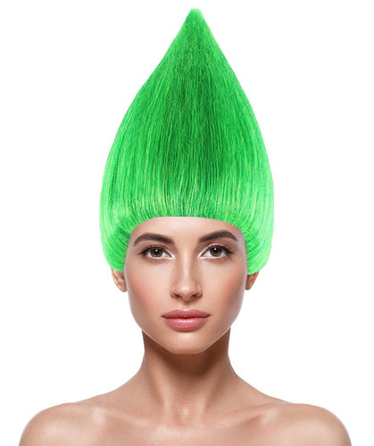 Women's Wig | Cosplay Green Trolls Wig