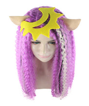 New Monster High Electrified Clawdeen Wig | Purple Curly Long Wig | Premium Breathable Capless Cap
