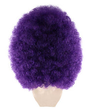 Super Size Jumbo | Violet Afro Wig | Party Halloween Wig