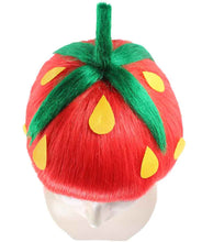 Strawberry Wig | Short Red Wig | Premium Breathable Capless Cap