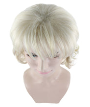 Blonde Country Singer Wig | Dolly Parton Cosplay Halloween Wig | Premium Breathable Capless Cap