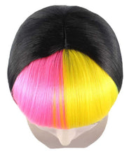 Pop Rainbow Bang Bob Wig | colorful Party Ready Fancy Cosplay Halloween Wig
