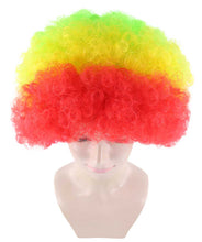 Rainbow Afro Clown Wig | Colorful LGBT Pride Super Sized Jumbo Wig