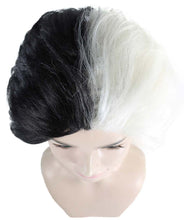 Ms. Spot Wig | TV/Movie Short Black & White Fancy Cosplay Halloween Wig
