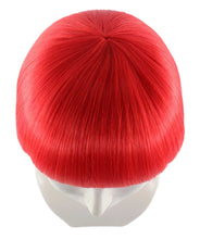 Red Bob Wig | Party Ready Fancy Cosplay Halloween Wig | Premium Breathable Capless Cap