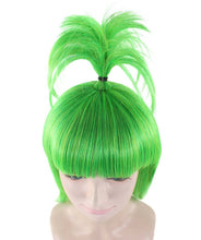 Pokemon Oddish Wig | Green Sexy Cosplay Party Halloween Wig | Premium Breathable Capless Cap