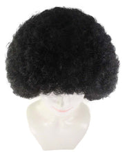 Black Afro Wig | Super Sized Jumbo Party Event Ready Cosplay Halloween Wig