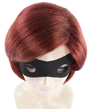 Incredible 2 Elastigirl Wig | Helen Parr Wig with Mask Set | TV/Movie Wigs