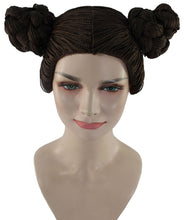 Shuri Black Panther Buns Wig | Brown TV/Movie Wigs