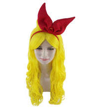 Dragon Ball Z Launch Wig with Red Bow Set | Yellow TV/Movie Wigs
