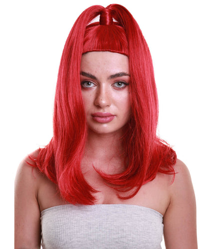 Womens TV Movie Character wig | Red Wigs