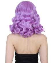 Singer Perry Wig | Purple Long Wig | Premium Breathable Capless Cap