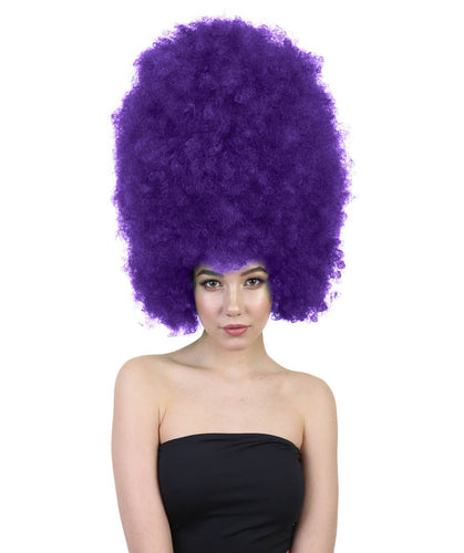 Super Size Jumbo Wigs | Black Afro Wigs | Party Halloween Wigs