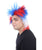 Patriotic Crazy Wig | Celebrity Wig | Premium Breathable Capless Cap
