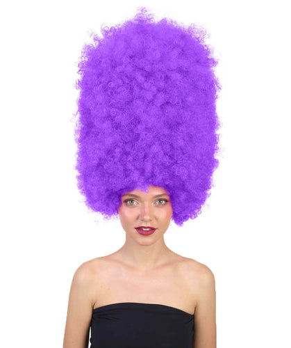 Super Size Jumbo Wigs | Blonde Afro Wigs | Party Halloween Wigs